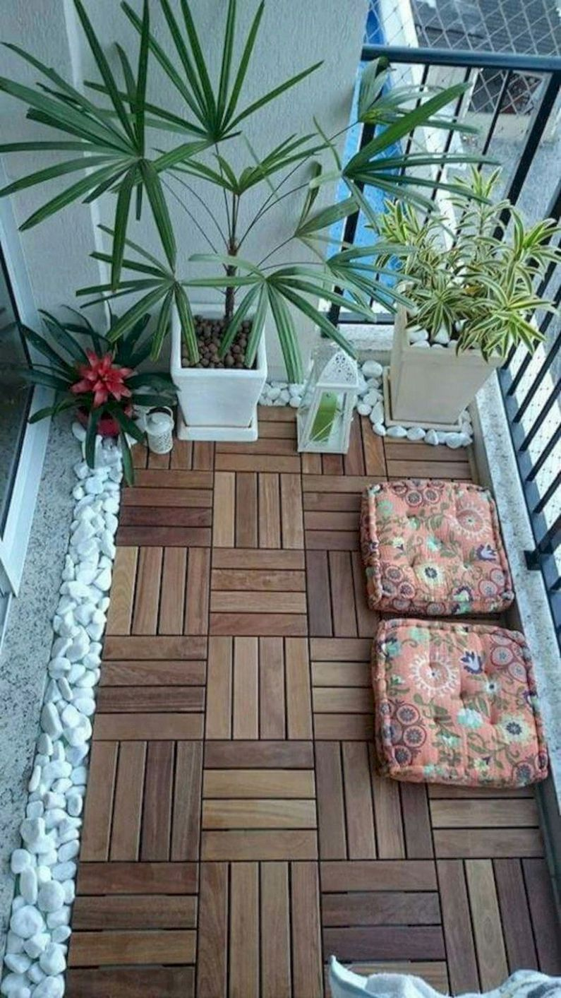 10 Creative Small Apartment Balcony Decorating Ideas On A Budget ...
