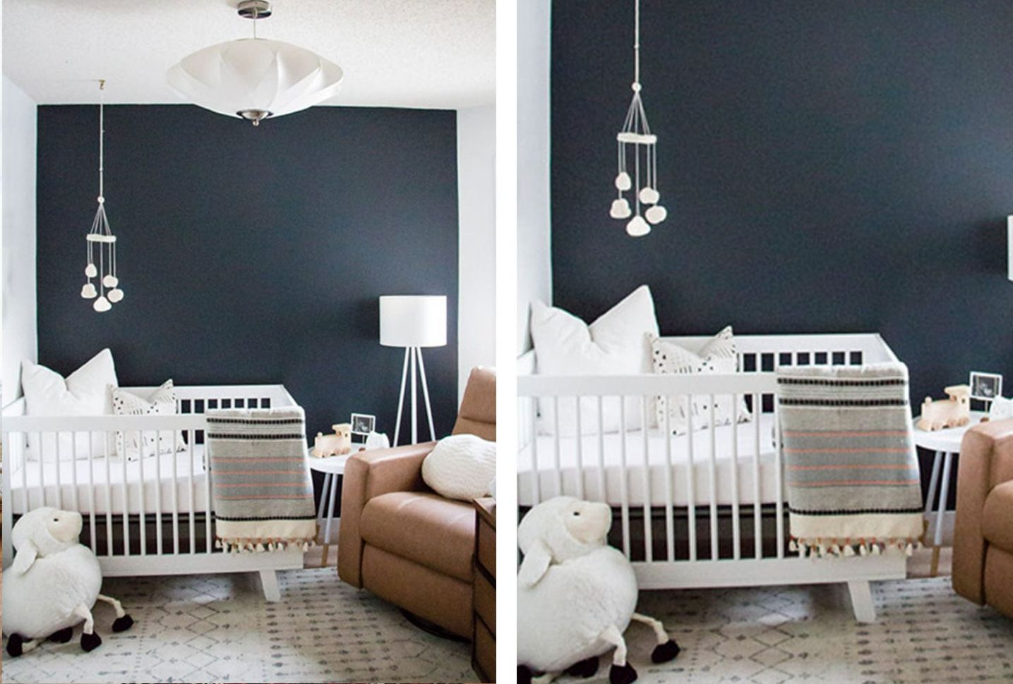 10+ Cute Baby Boy Room Ideas | Shutterfly - baby room accent wall