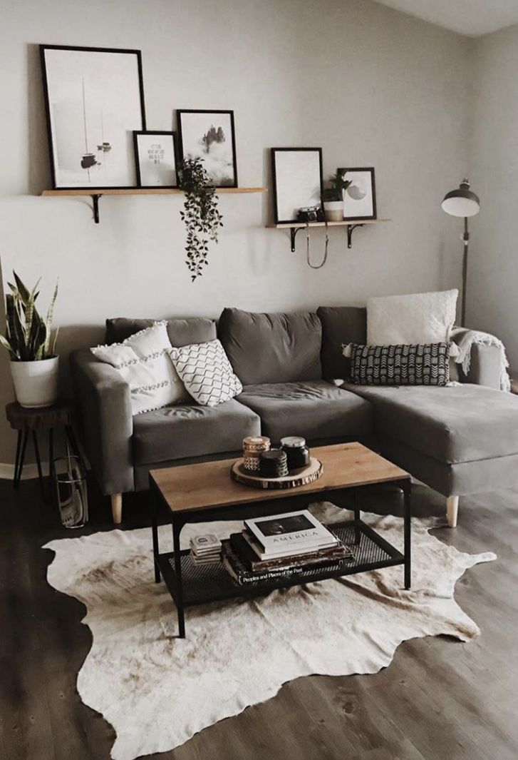10 Different Ways to Style Floating Shelves (With images) | Living ..