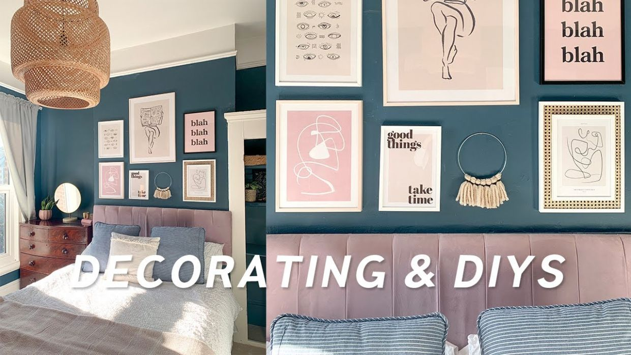 10 DIY Home Decor Ideas and mini Bedroom Transformation ✨