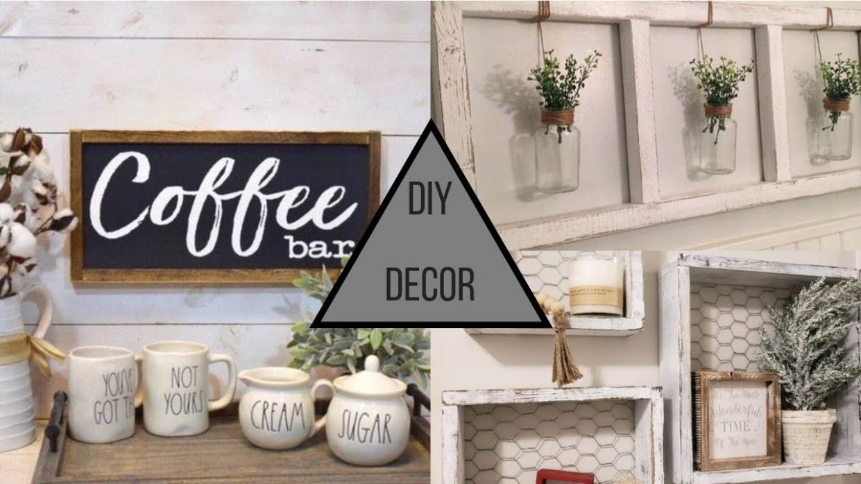 10 DIY Home Decorating Project Ideas - diy home decor for beginners