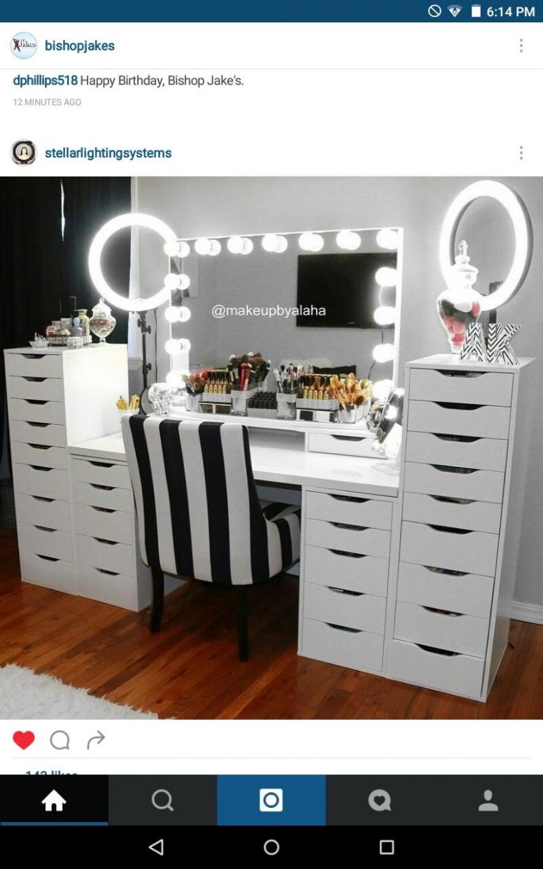 10+ DIY Makeup Room Ideas, Organizer, Storage and Decorating (With ..