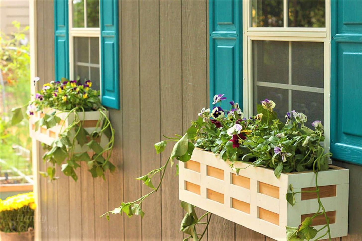 10 DIY Window Box Ideas for Your Home - window box ideas no plants