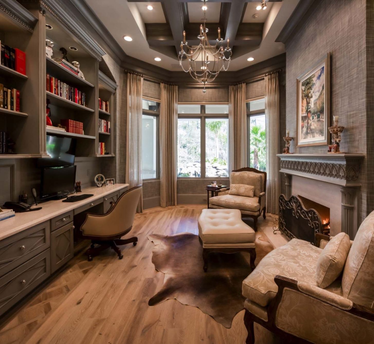 10 Dreamy home offices with libraries for creative inspiration ..