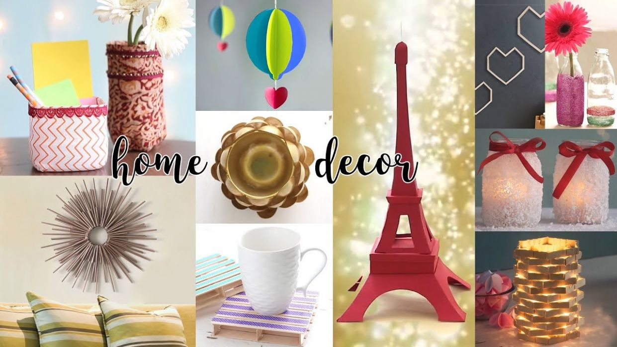 10 Easy DIY Home Decor Ideas | Useful Things | Craft Ideas - diy home decor step by step