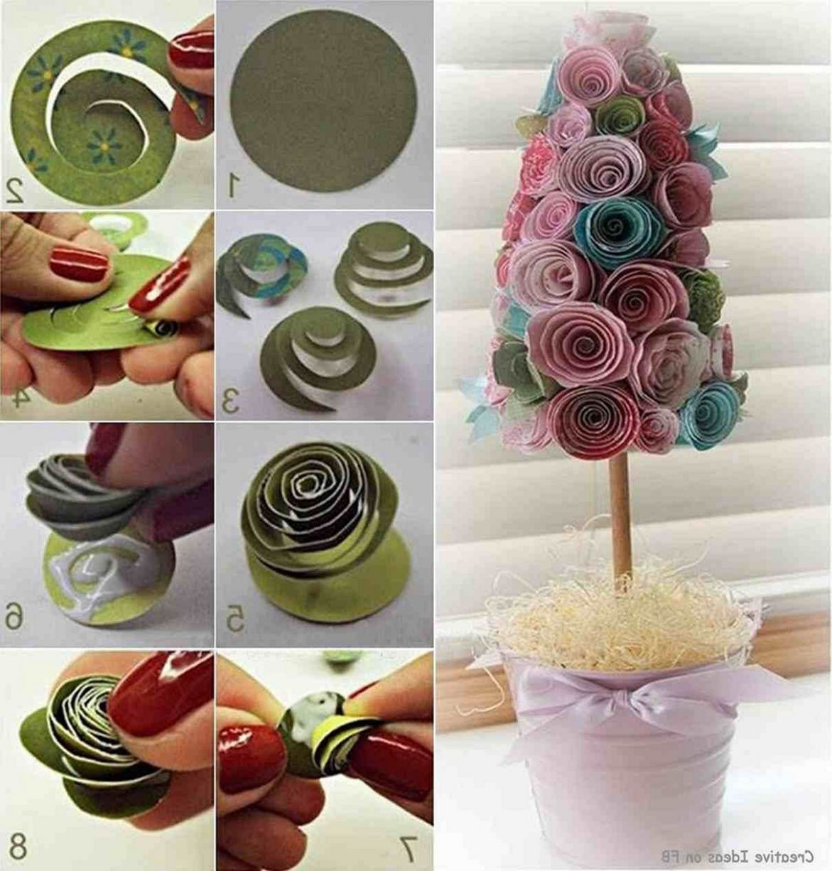 10 Easy DIY Home Decoration Ideas On a Budget (With images) | Diy ...