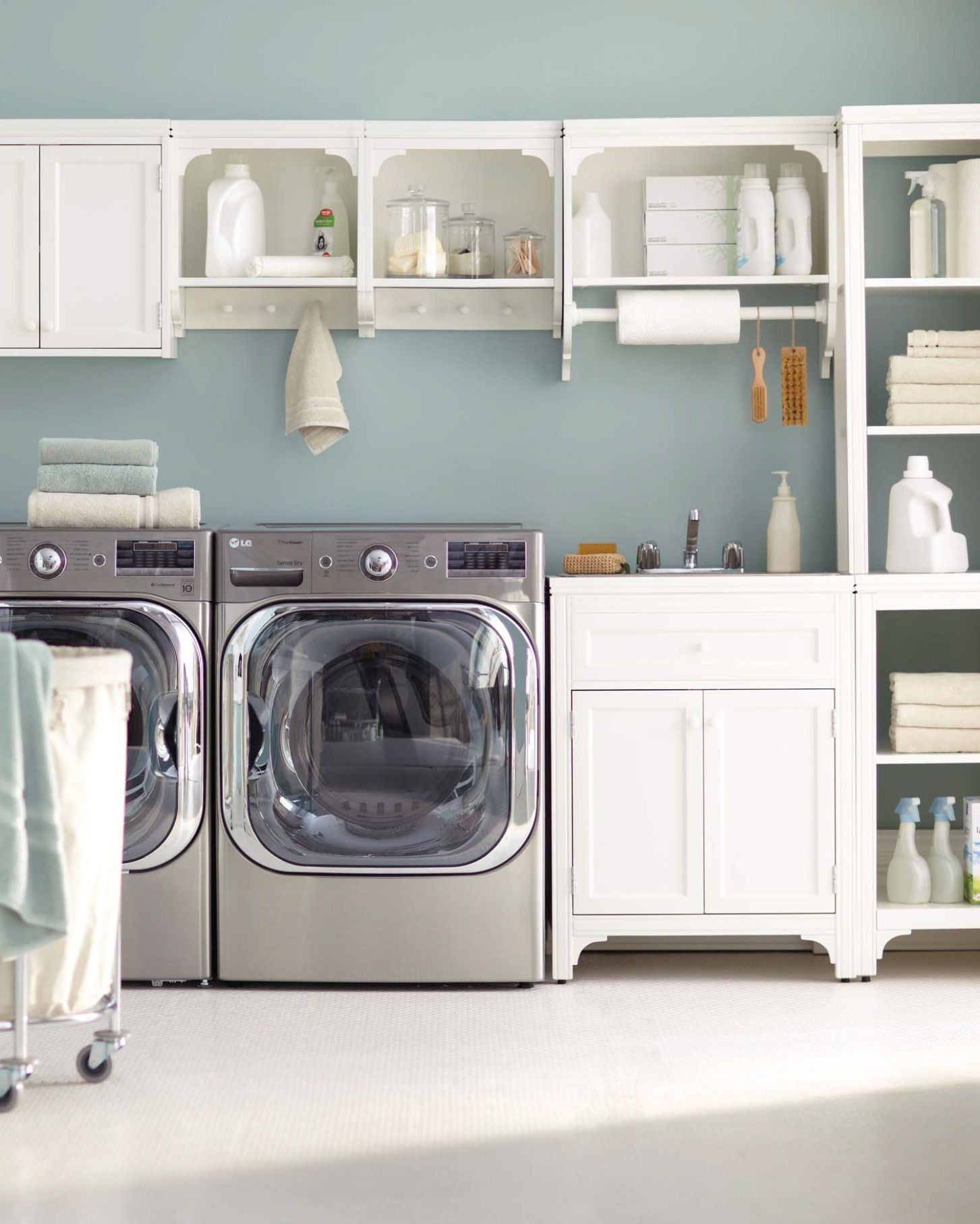 10 Essential Laundry Room Organizing Tips | Martha Stewart - laundry room ideas to hang clothes