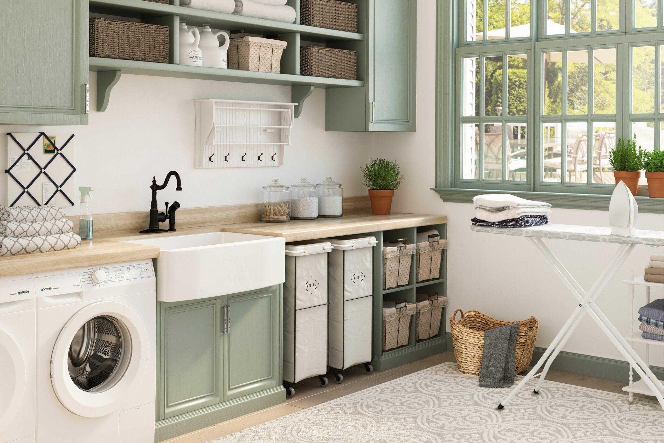 10 Essential Laundry Room Storage Ideas | Wayfair - laundry room storage ideas