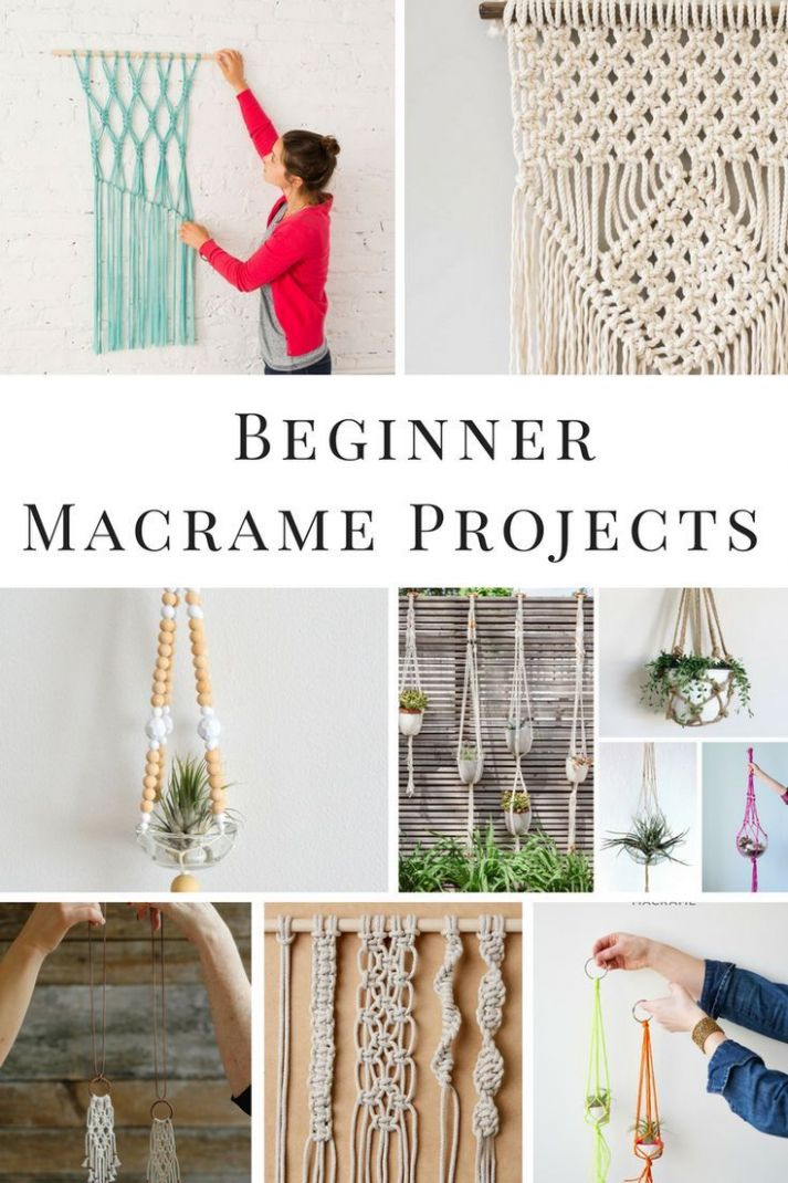10 Fabulous Macrame Projects for the Beginner | Macrame projects ..