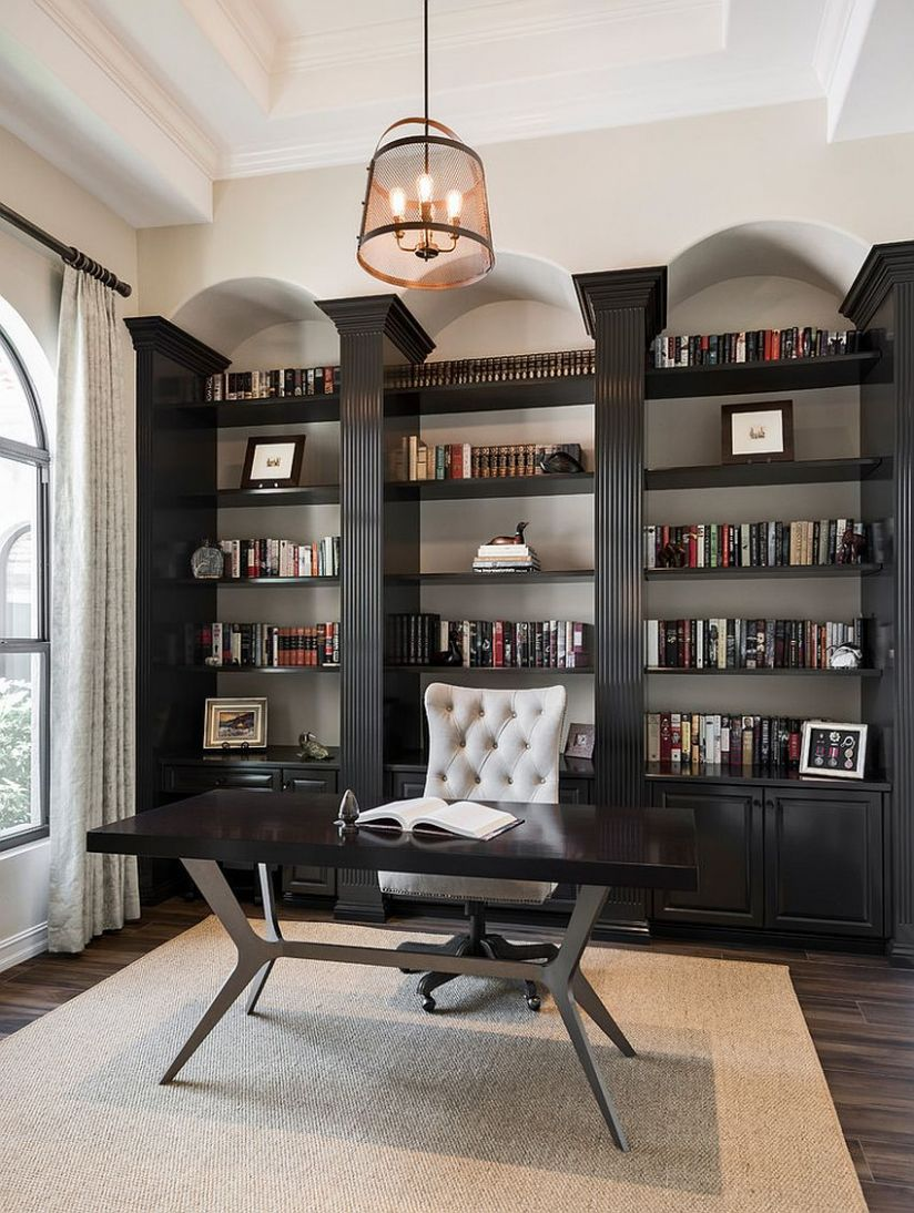 10 Home Office Shelving Ideas for an Efficient, Organized Workspace