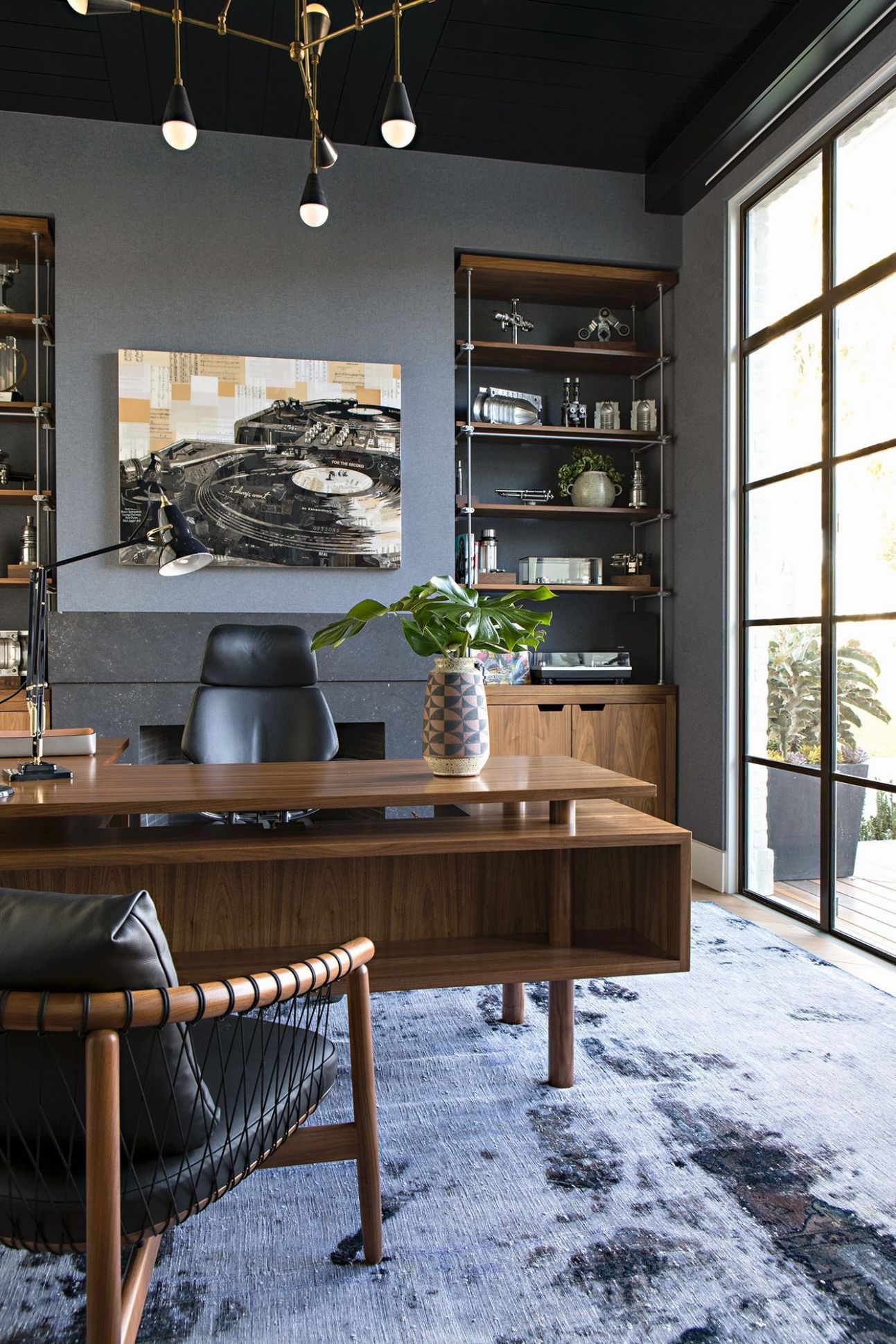 10 Important Tips on Comfortable Home Office Ideas | Cozy home office