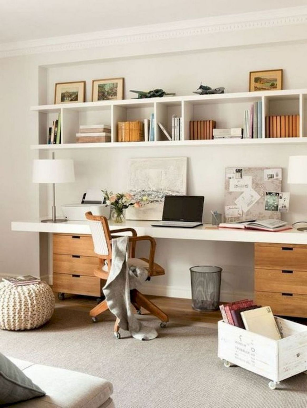 10 Incredible DIY Office Desk Design Ideas and Decor (With images ..
