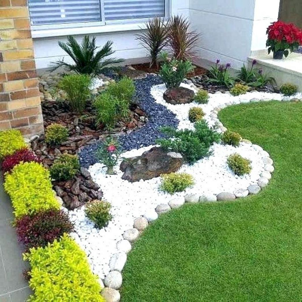 10 Incredible Front Yard Rock Garden Landscaping Ideas You Need To ..