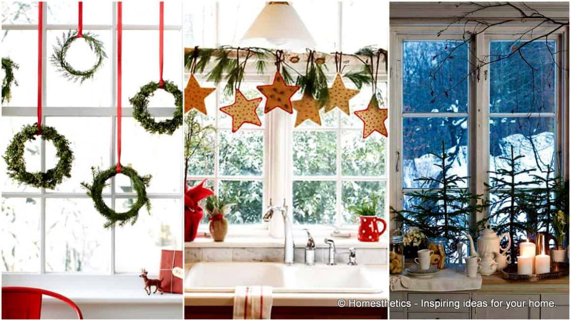 10 Insanely Beautiful Last-Minute Christmas Windows Decorating ..