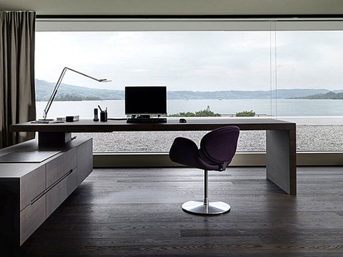 10 Inspirational Home Office Ideas and Color Schemes (With images ..