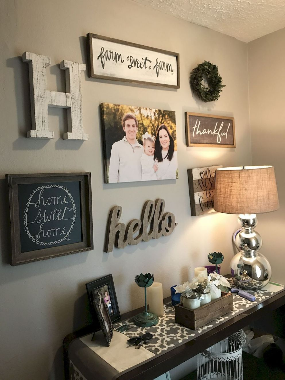 10 inspiring farmhouse entryway decor ideas | Farmhouse decor ...