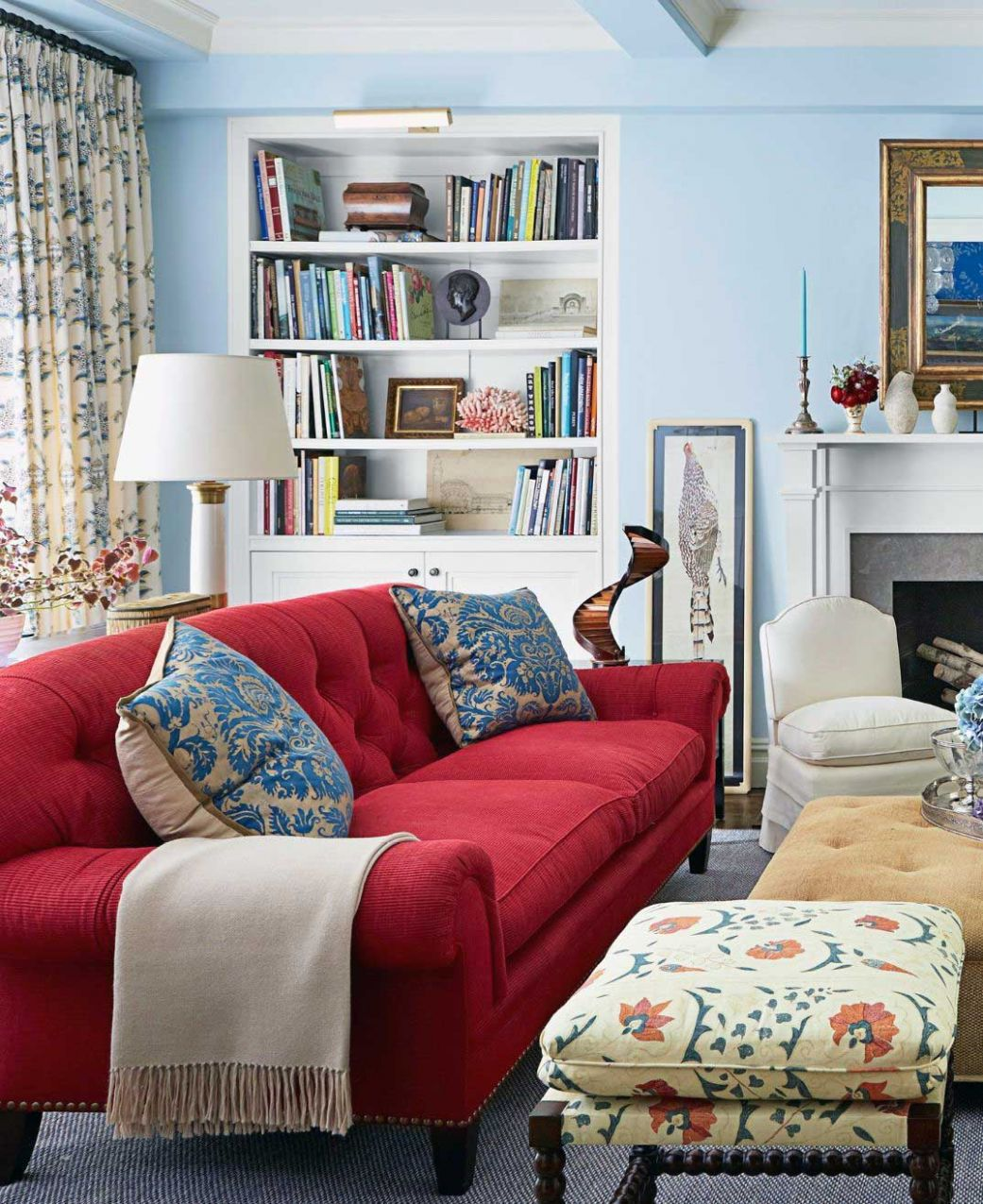 10 Luxury & Proper Red Sofa for Living Room Ideas