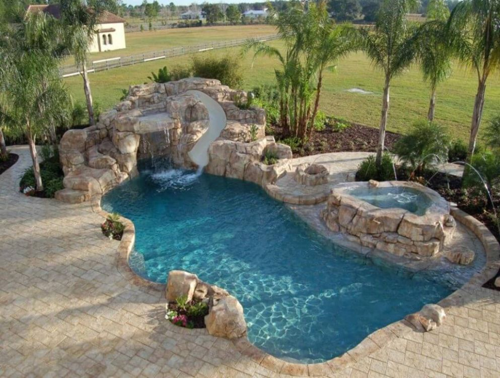 10+ Luxury Swimming Pool Designs to Revitalize Your Eyes - pool design ideas