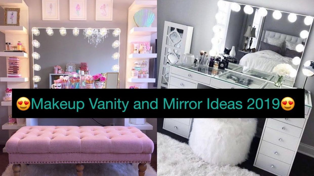 10+ Makeup 💄Vanity And Mirror SetUp Ideas||Makeup Vanity Ideas For  Bedroom||by style&fashion vlogs - makeup room setup ideas