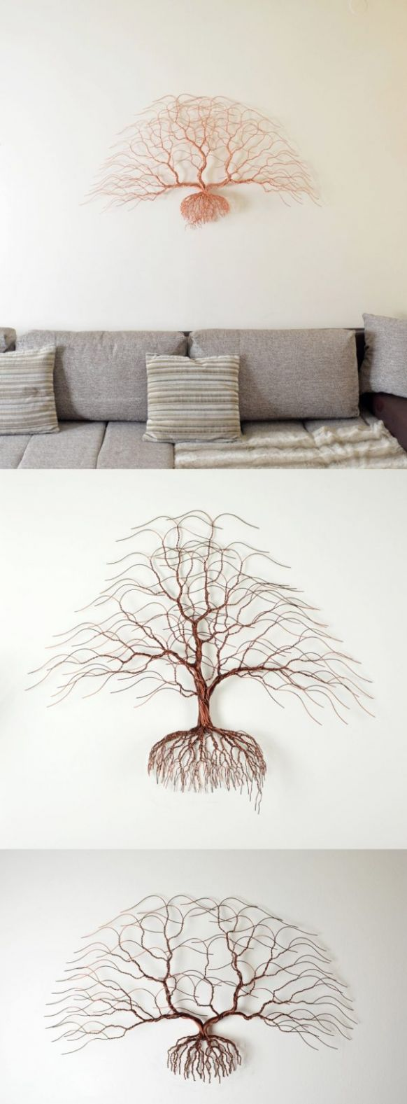 10 Marvelous Metal Wall Art Décor Pieces - wall decoration ideas to buy