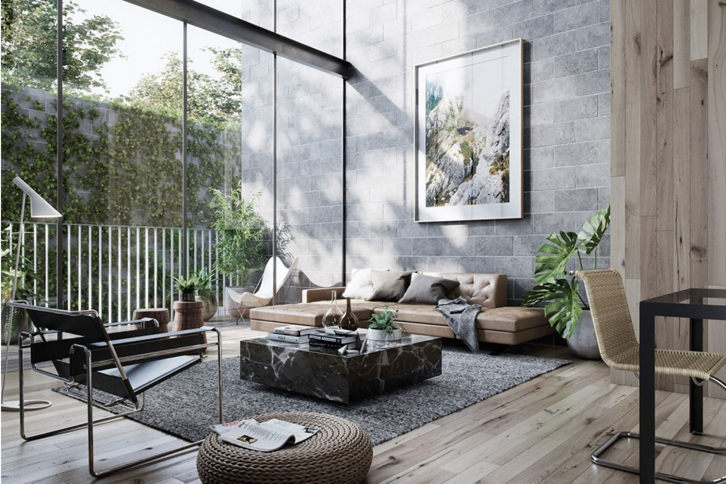 10+ Masculine Living Room Ideas & Inspirations | Man of Many - wall decor ideas for guys