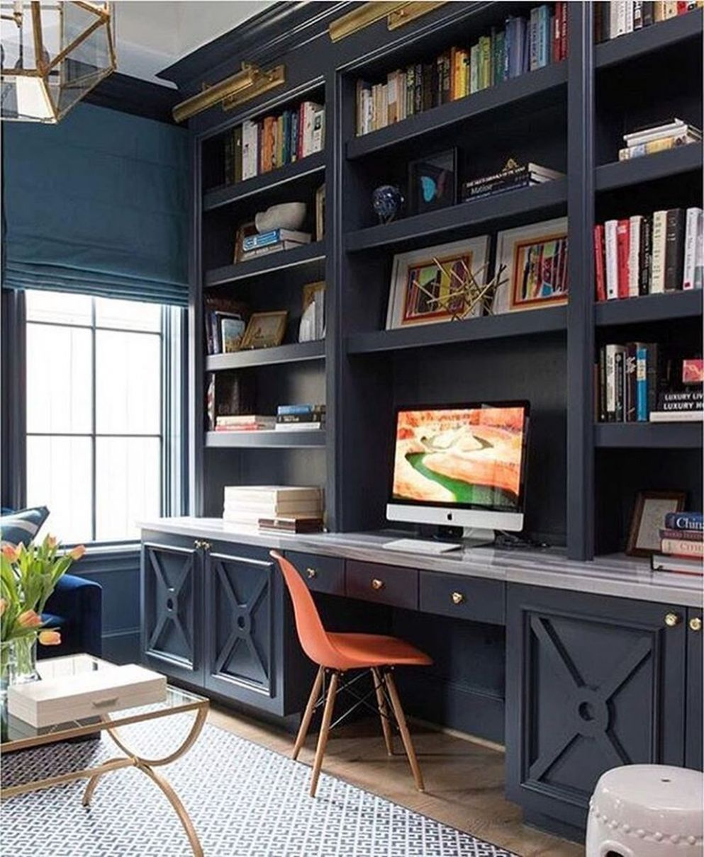 10+ Modern Diy Home Office Desk Ideas | Home office decor, Home ...