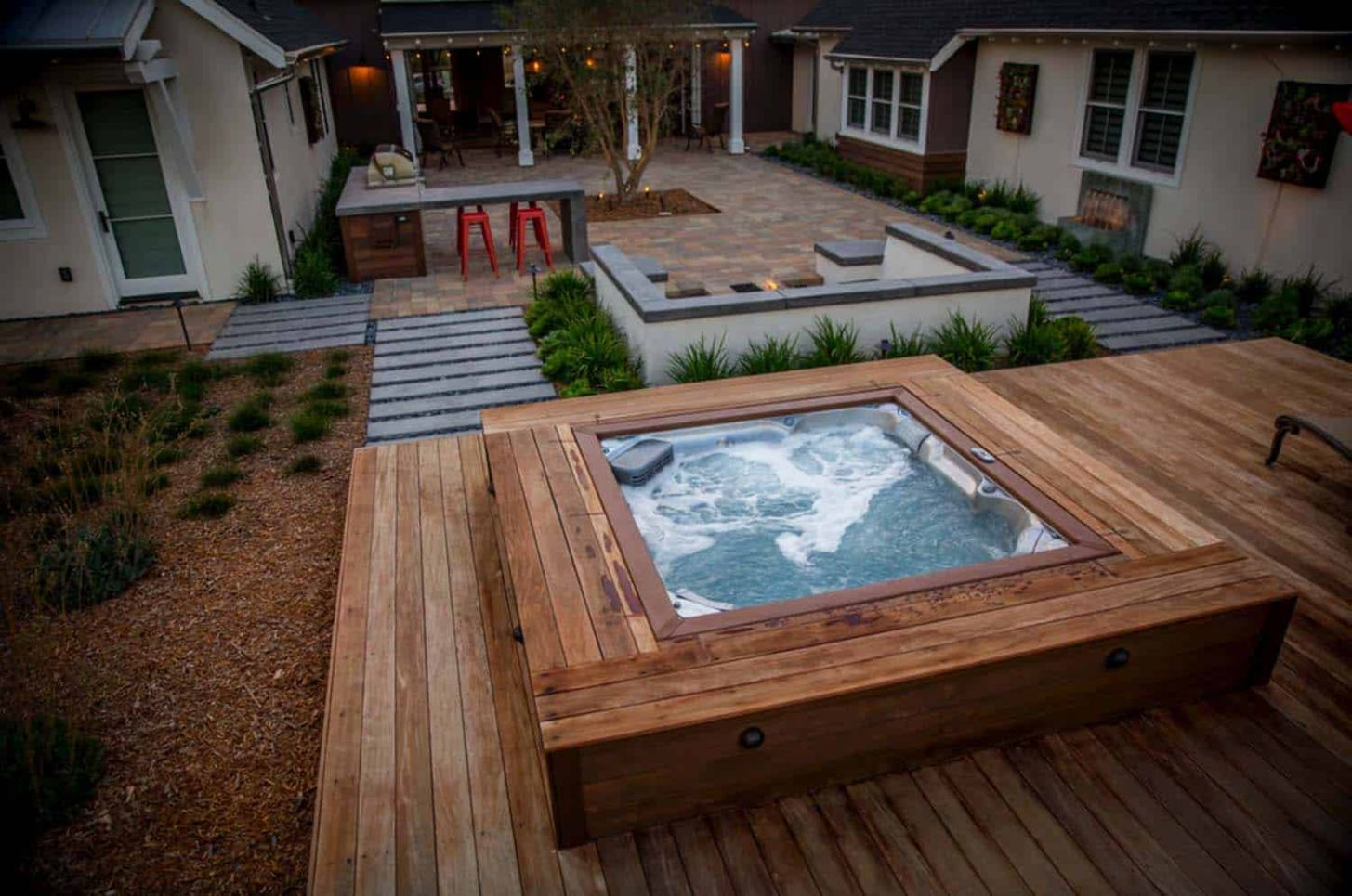 10+ Outstanding Hot Tub Ideas To Create A Backyard Oasis