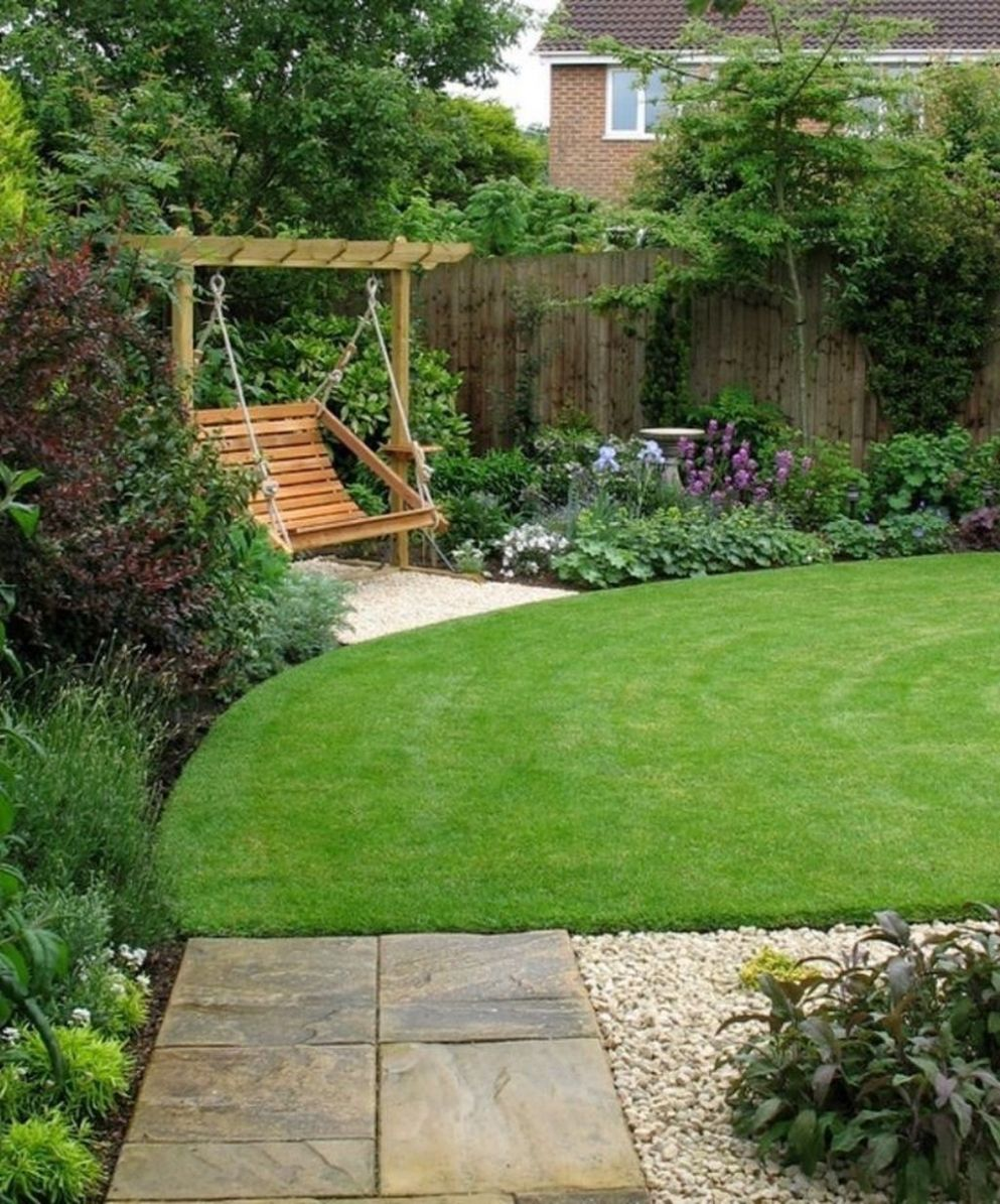10 Pretty Landscaping Small Backyard Ideas (With images ..