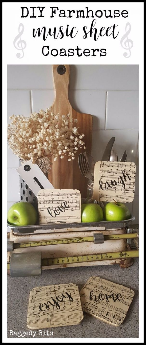 10 Rustic DIY Farmhouse Crafts to Make and Sell (With images ...