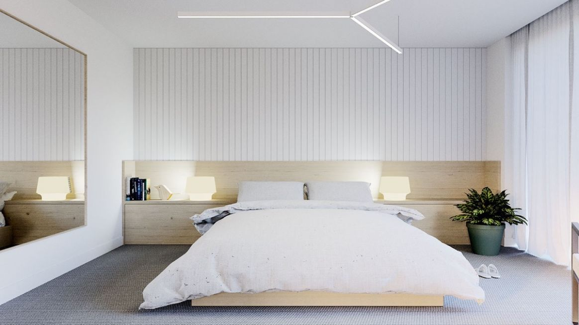 10 Serenely Minimalist Bedrooms To Help You Embrace Simple Comforts - bedroom ideas minimalist