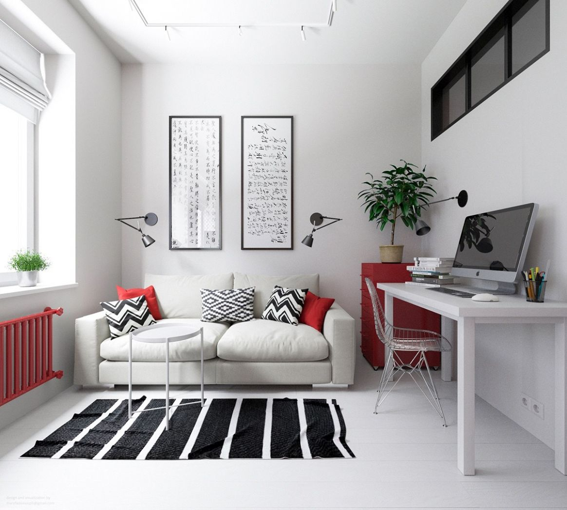 10 Small Apartments That Rock Uncommon Color Schemes [With Floor Plans]
