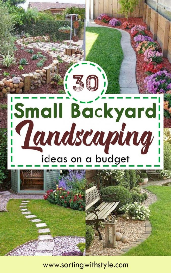 10+ Small Backyard Landscaping Ideas on A Budget (Beautiful Layout) - backyard ideas on a budget pictures