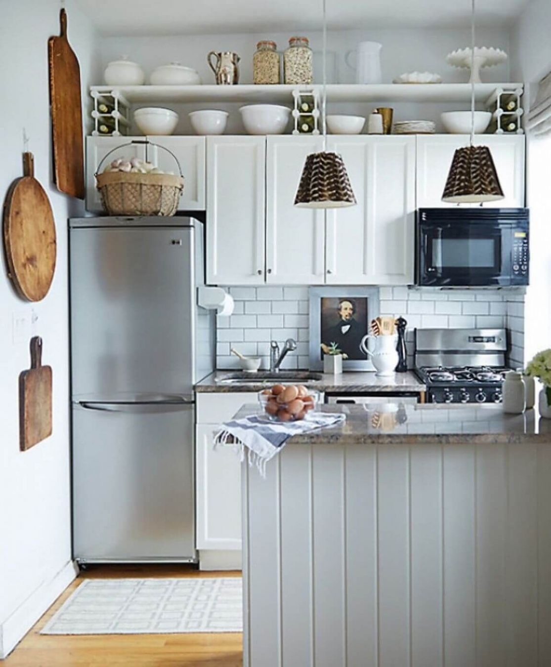 10 Small Kitchen Decor Ideas On a Budget to Maximize Existing the ...