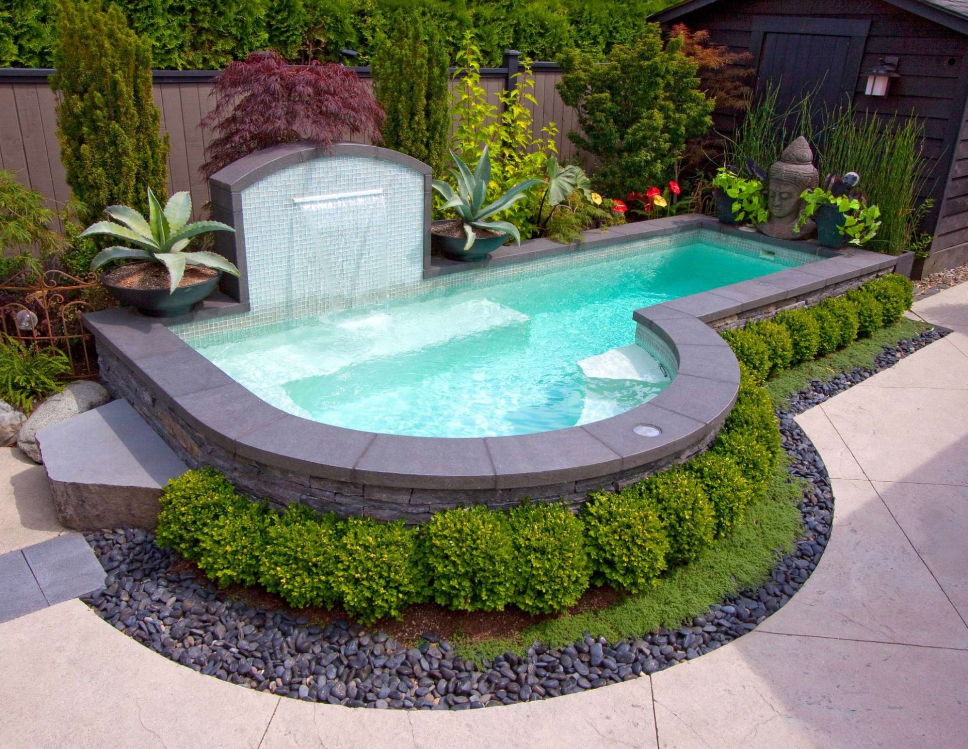 10 Small Swimming Pools with Big Style