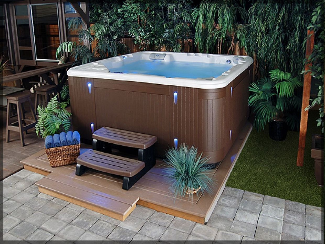 10 Some of the Coolest Designs of How to Makeover Hot Tub Backyard ..