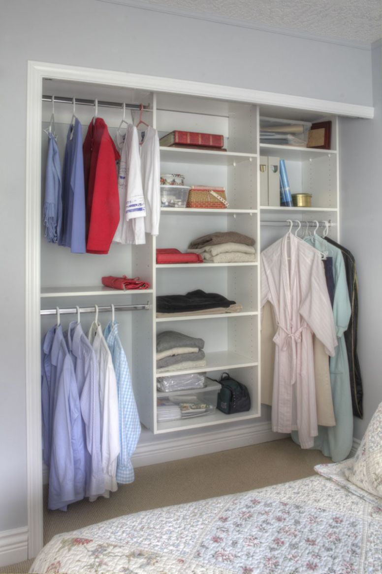 10 Storage Ideas For Small Closets