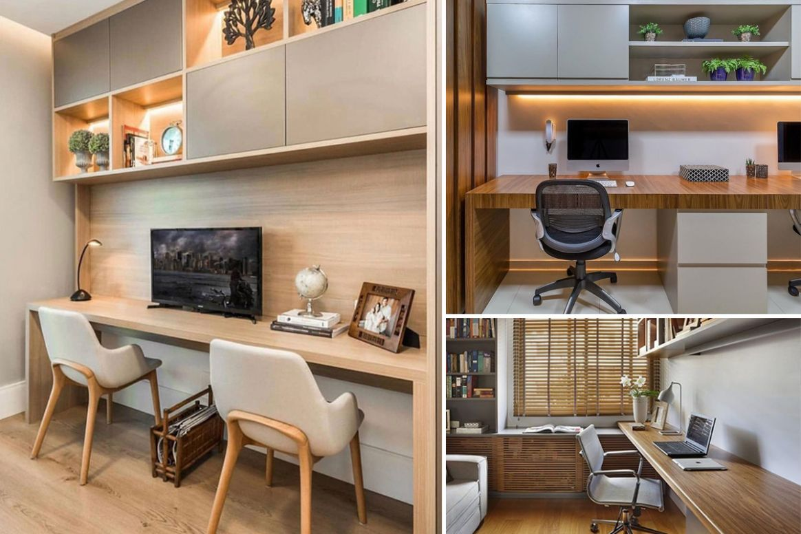 10 Stunning Small Home Office Design Ideas that Inspire - Like ..