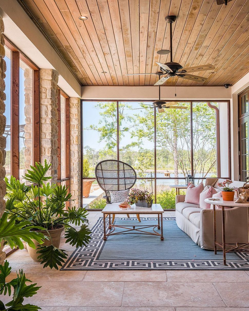 10 Sunroom Seating Ideas from the Comfy to the Creative | Small ..