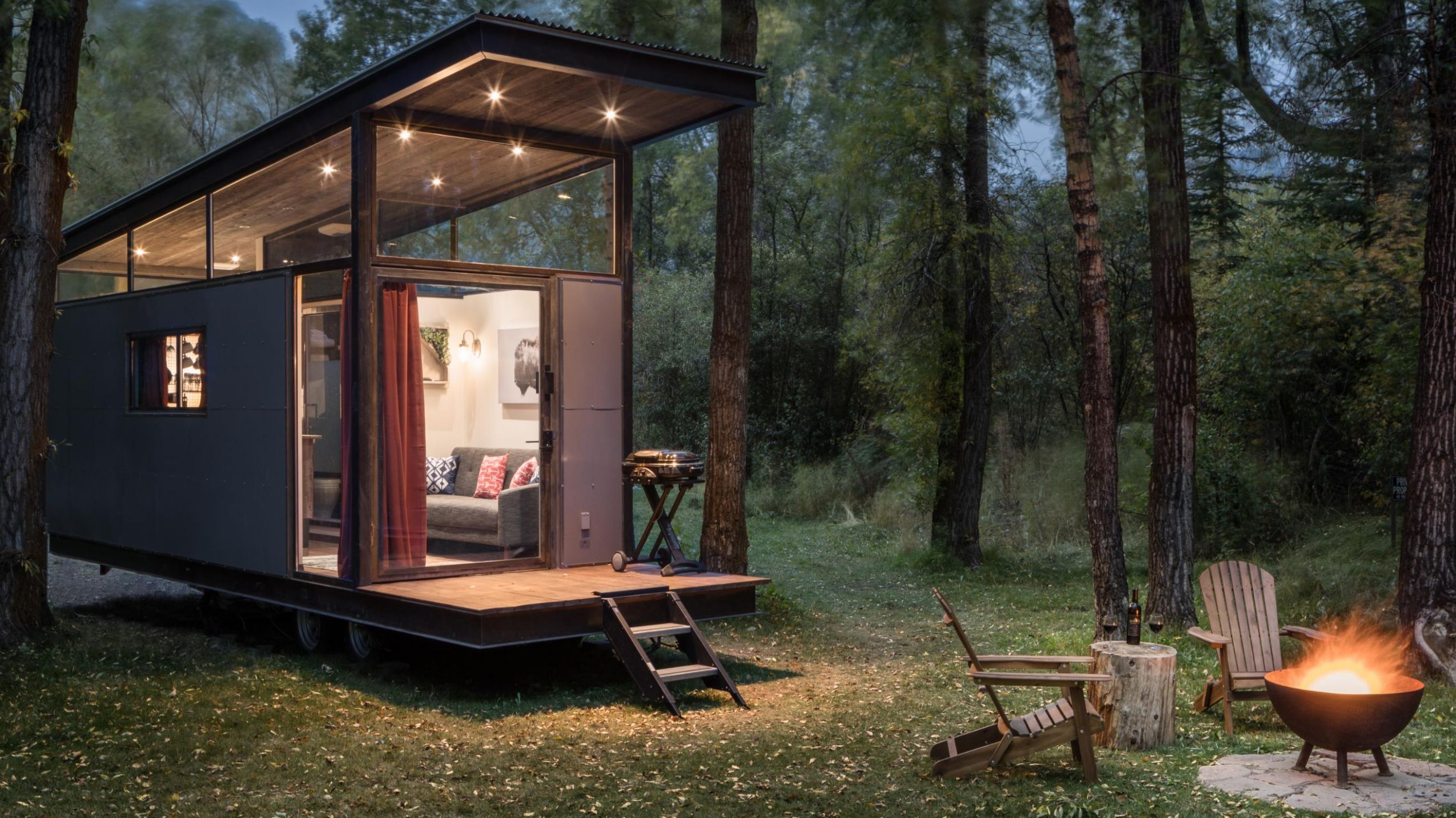 10 tiny house hotels that are big on personality and charm | CNN Travel - tiny house resort
