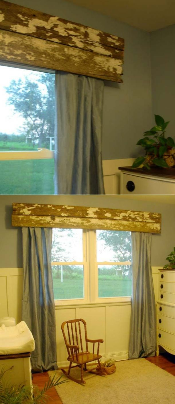 10 Very Cheap and Easy DIY Window Valance Ideas You Would Love ...