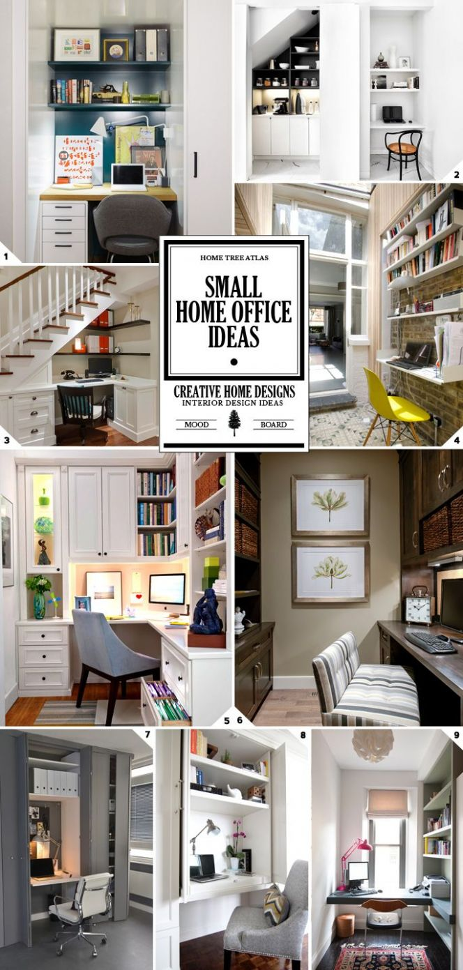 10 Ways to Maximize Space In a Small Home Office: Ideas and Design ..
