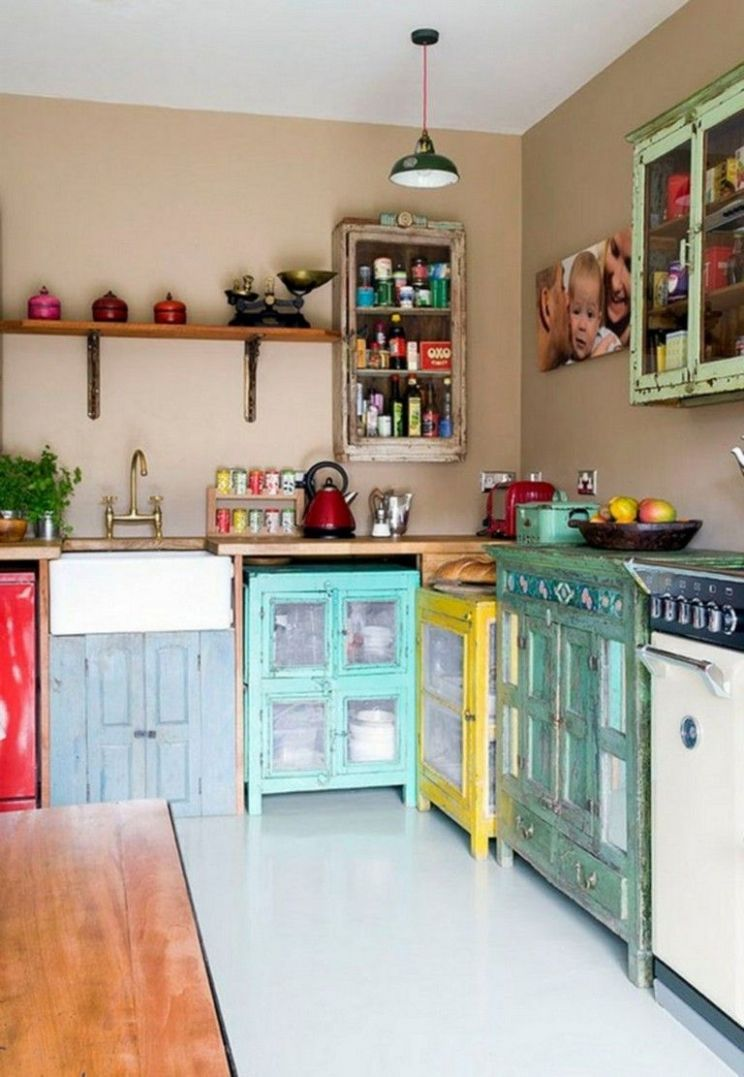 11+ Amazing Colorful Kitchen Design Ideas For Exciting Cooking ..