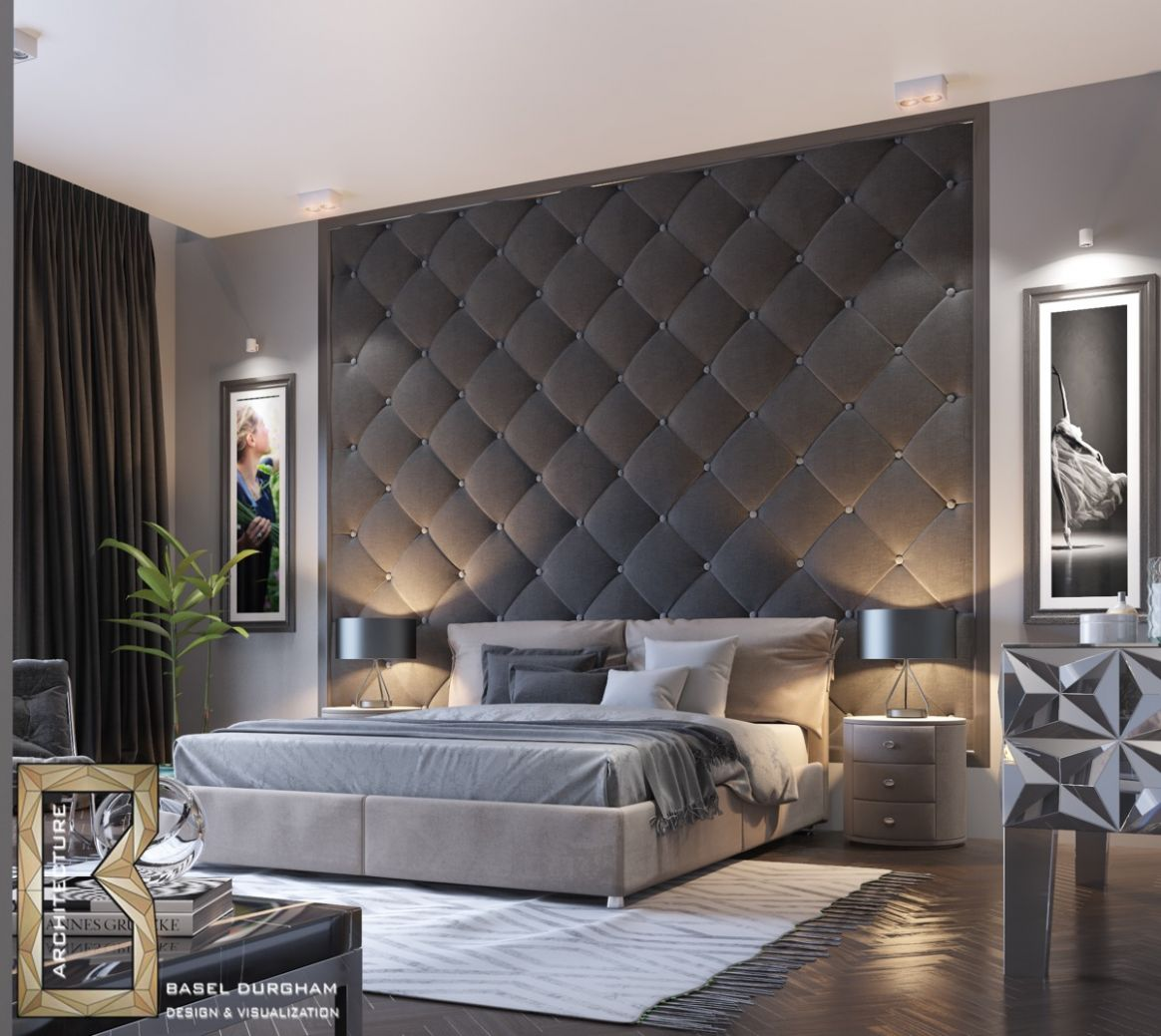 11 Awesome Accent Wall Ideas For Your Bedroom - wall decor ideas behind bed