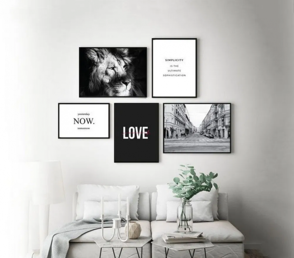 11 awesome gallery wall design ideas 11 | Wall decor printables ..
