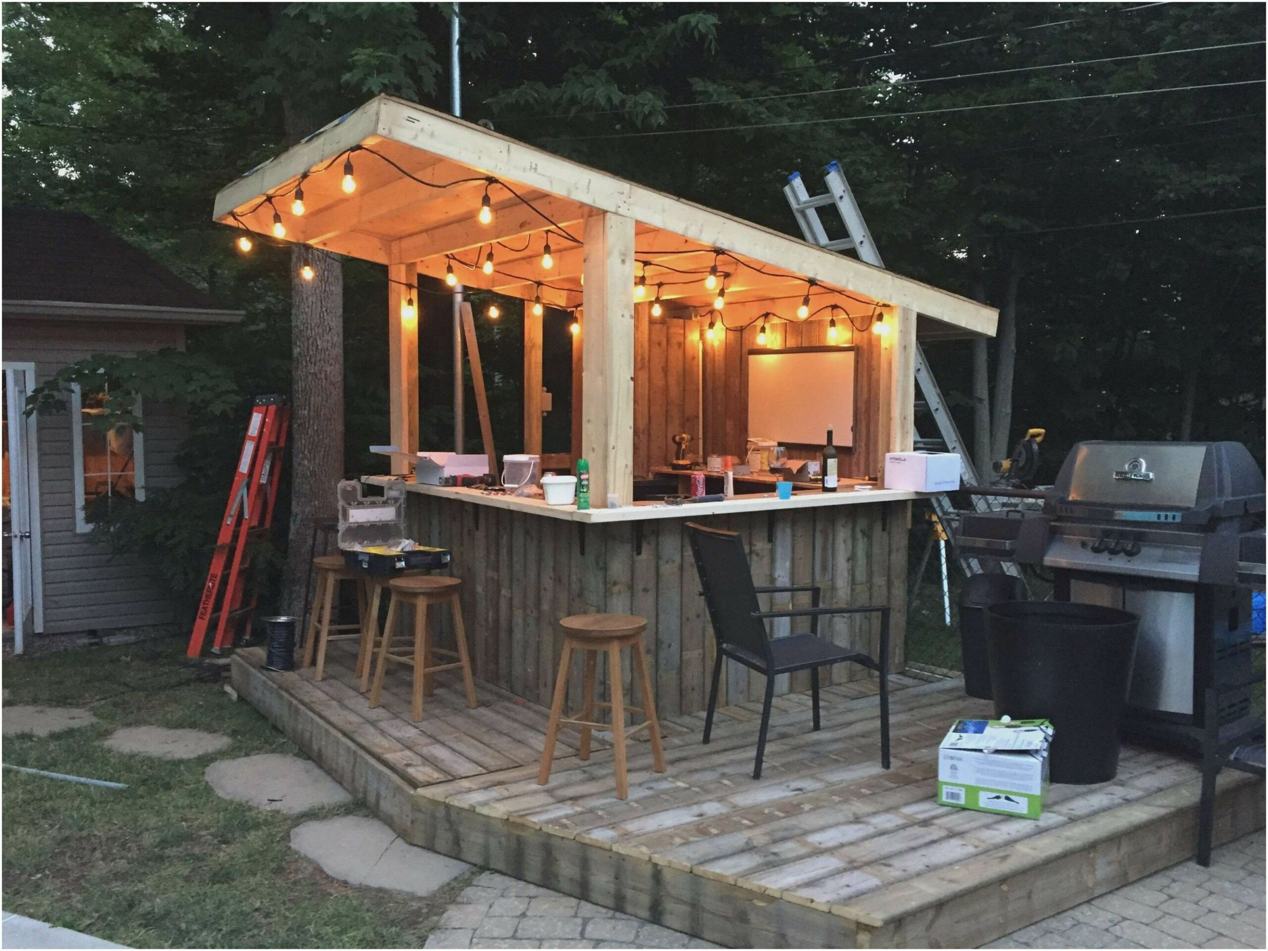 11 Awesome Tricks of How to Make Backyard Bar And Grill Ideas ..