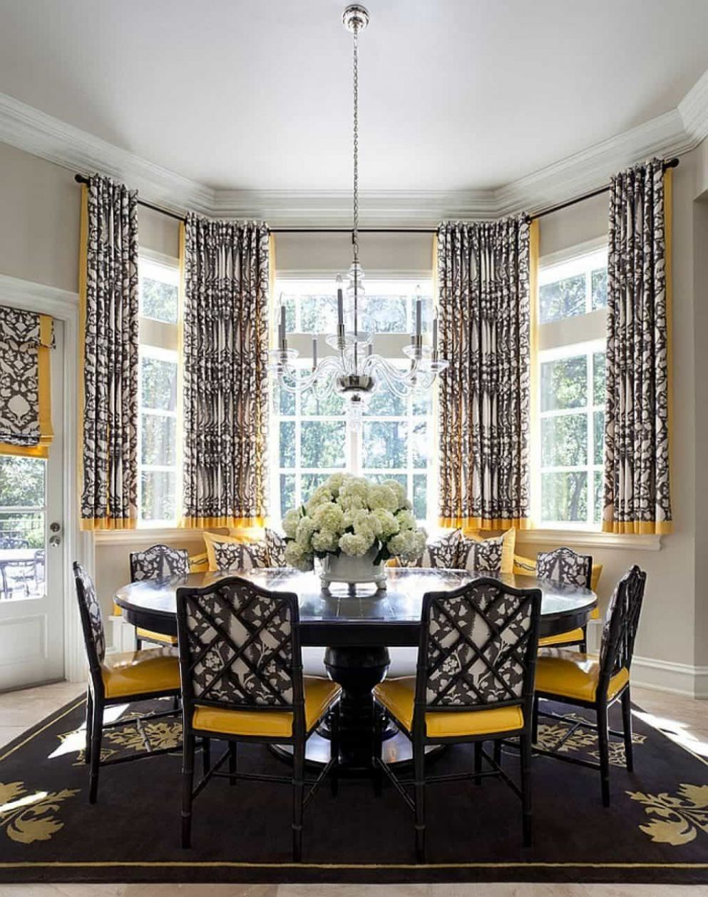 11+ Bay Window Ideas Blending Functionality With Modern Interior ...