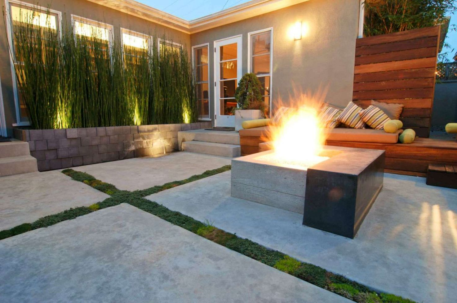11 Beautiful Concrete Patio Ideas and Designs