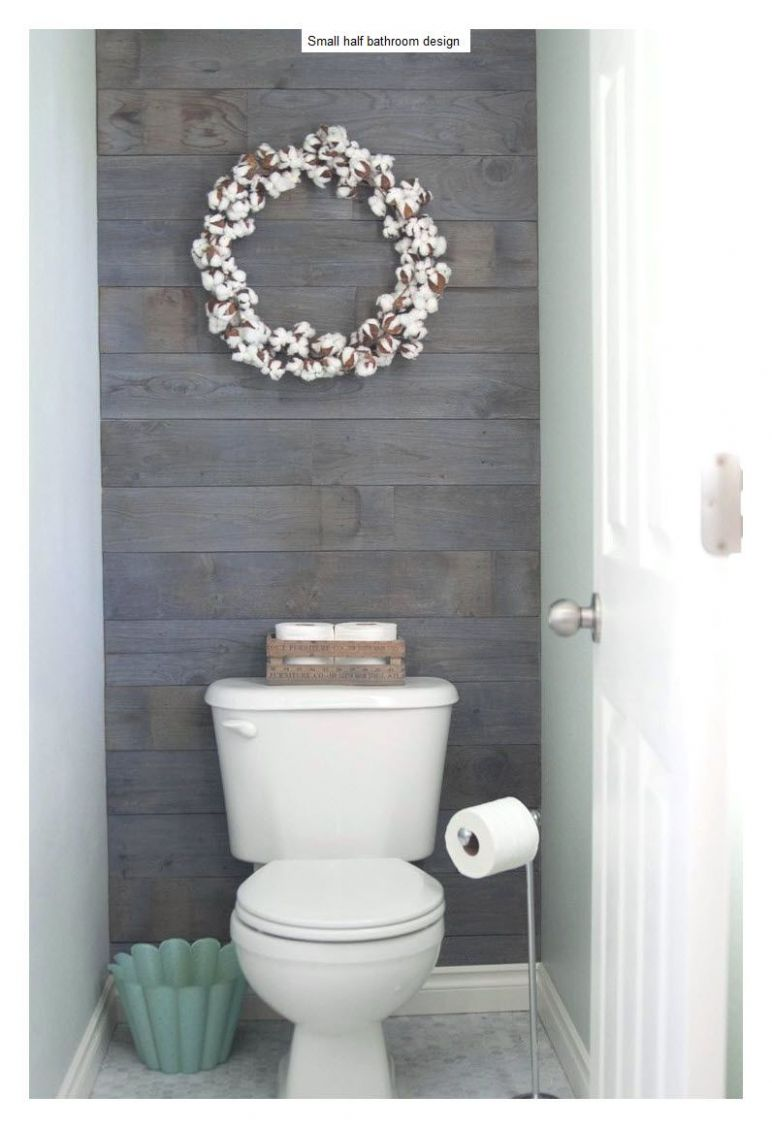 11+ Beautiful Half Bathroom Ideas for Your Home (With images ...