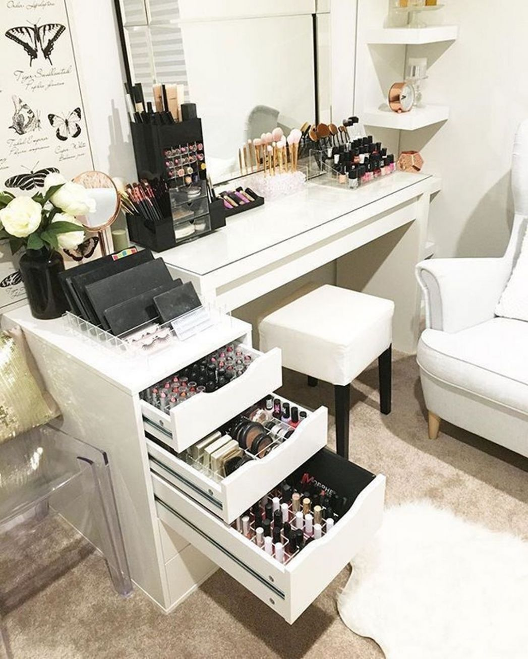11 Best And Beautiful Organizing Makeup Equipment Design Ideas in ..