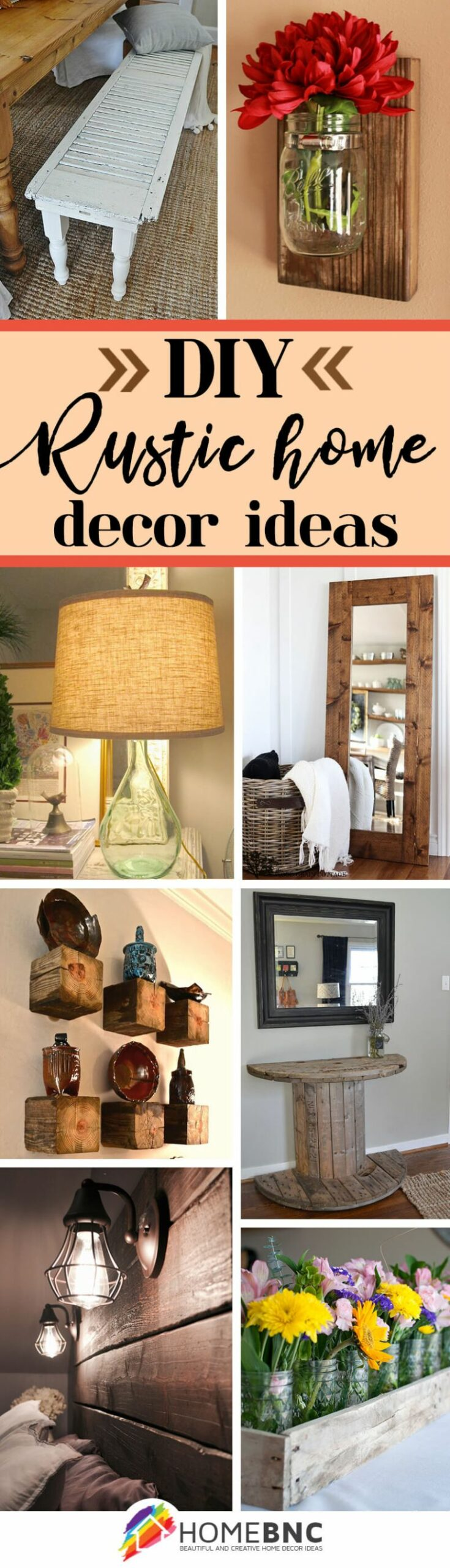 11 Best DIY Rustic Home Decor Ideas and Designs for 11